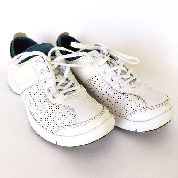 White Elise Leather Sneakers | Poshmark